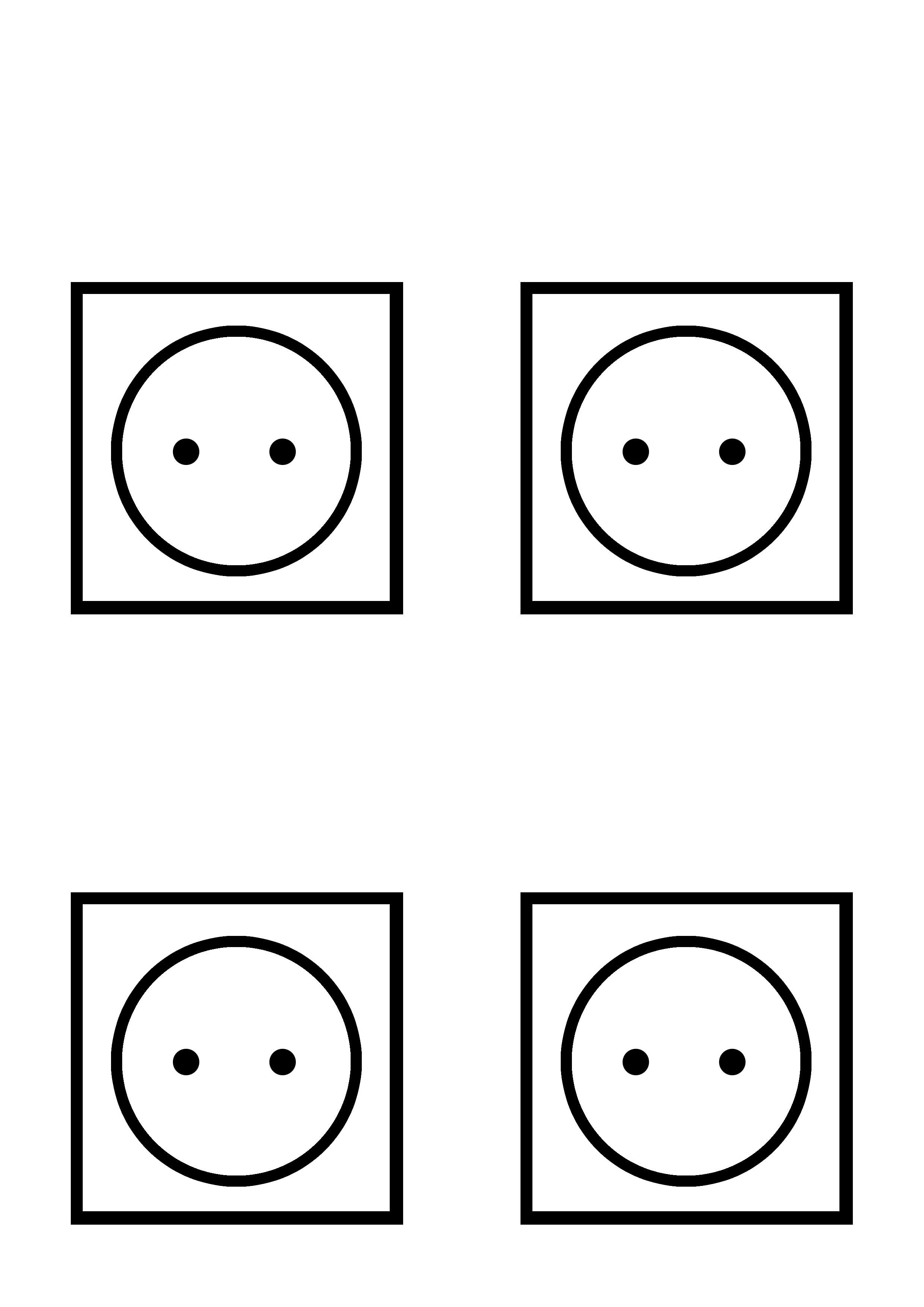 Prises simples